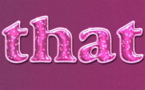 glossy pattern photoshop glossy text effect pink girl psd party font textuts