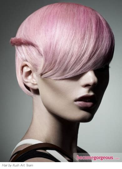 pink platinum blond streaks on short hair pictures hair highlights ideas platinum blonde hair