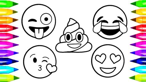 free coloring pages of emoji emoji coloring pages how to draw and color emoji faces
