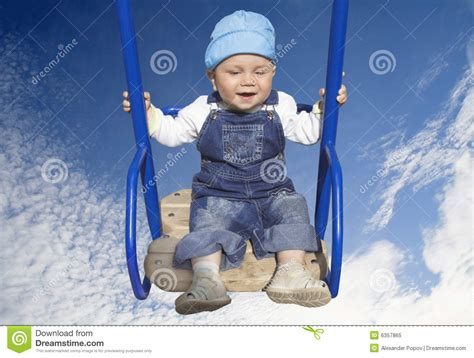 baby boy swing baby boy on swing royalty free stock photo image 6357865