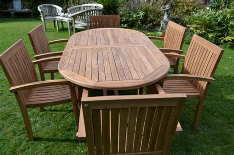 Teak Patio Furniture Clearance Clearance 8 Seater Teak Garden Set