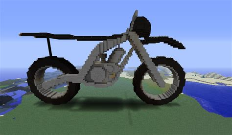 minecraft motorcycle motorcycle by kevin 309 minecraft project