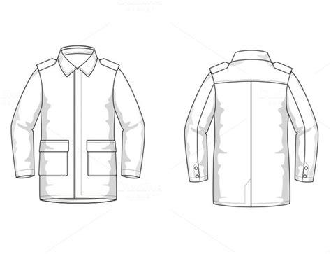 coat template flat ui ppt template 187 designtube creative design content