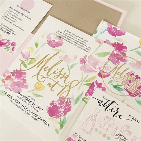 Wedding Invitation Design Price Philippines by March 233 Wedding Philippines Top 12 Wedding Invitation