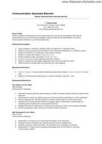 Communication Resume Sample Communication Skills Resume Ingyenoltoztetosjatekok Com