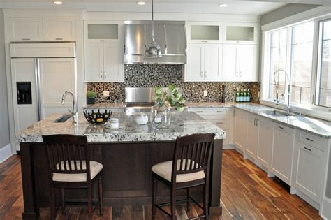 granite kitchen ideas make your kitchen with alaska white granite homestylediary