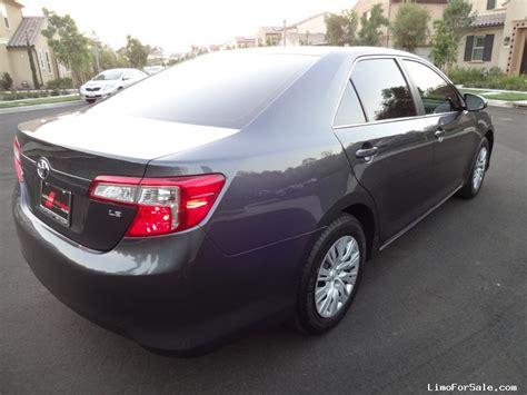 toyota camry limo used 2013 toyota camry sedan limo irvine california