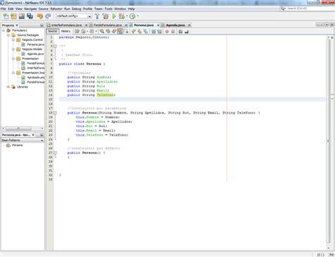tutorial netbeans c tutorial crear un formulario de datos en netbeans java