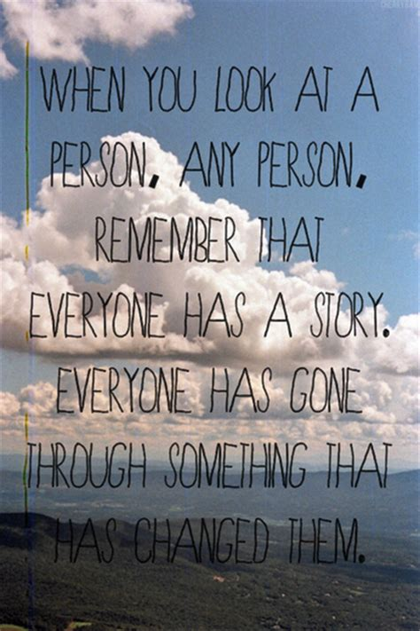 inspirational quotes stories everyone has a story pictures photos and images for