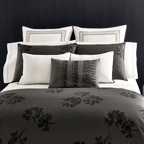 vera wang bedding vera wang pom poms duvet cover set from beddingstyle com