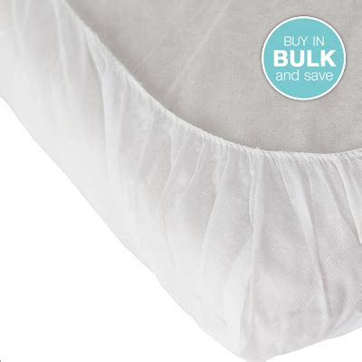 Disposable Bed Sheet disposable fitted bed sheet 10 pk