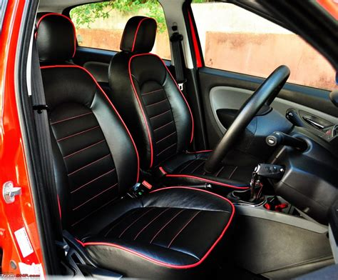 sport car seat cover designs the rocket fiat grande punto sport update