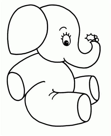 imagenes mitologicas para pintar dibujos f 225 ciles de elefantes para pintar