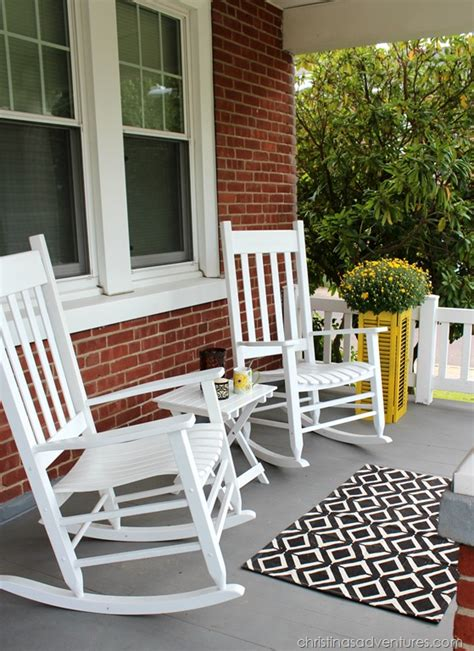 Front Porch Table And Chairs Simple Fall Front Porch Christinas Adventures
