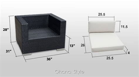 standard ottoman dimensions furniture dimensions creative island furnishings