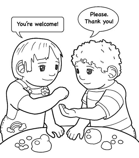 i can be a friend coloring page vitlt com