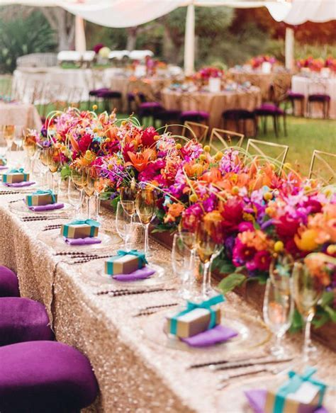 Couple?s Bright Colorful Indian Wedding Is Jaw Dropping