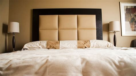 black wood headboards black stained wooden frame headboard with light brown