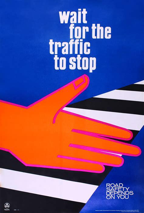 poster design road safety osylph stripes vintage road safety posters