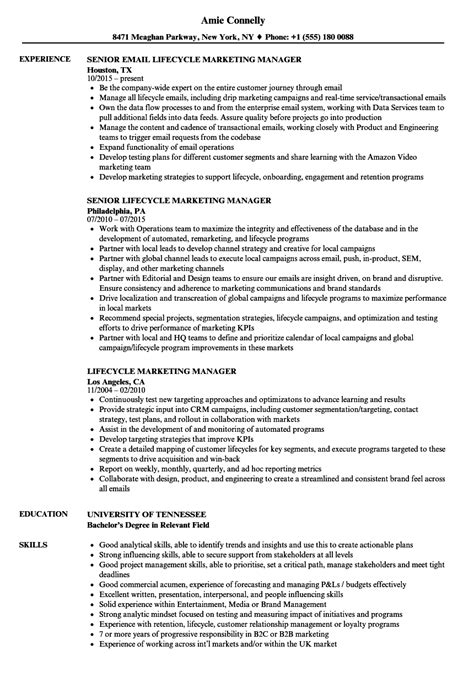 field marketing manager sle resume sle of company profile travel cover letter