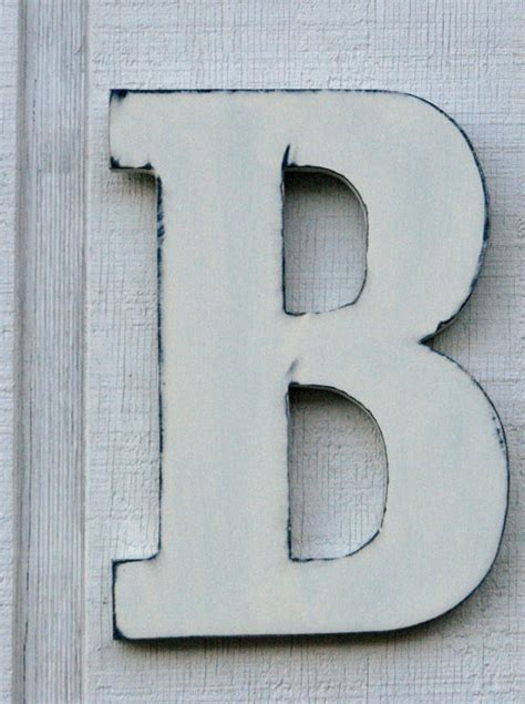 b home decor guest book wooden letters rustic letter b home decor