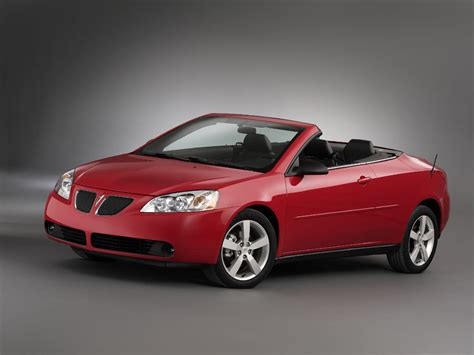 2006 Pontiac G6 Convertible by G6 Convertible Gets Date With Destiny The Car Connection