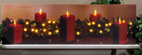 lighted canvas christmas pictures led canvas christmas pictures my blog