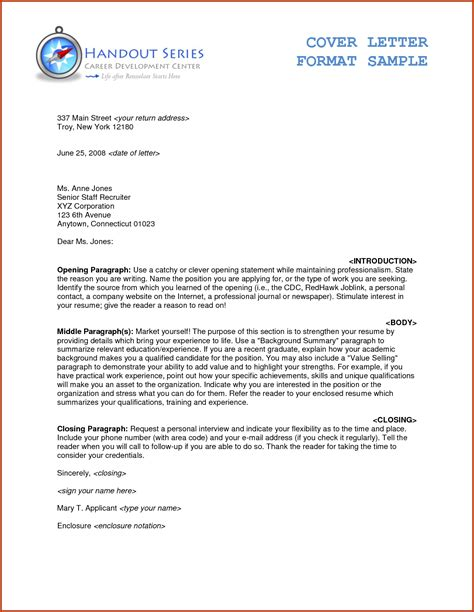Letter In Business business letter format enclosure notation cover letter