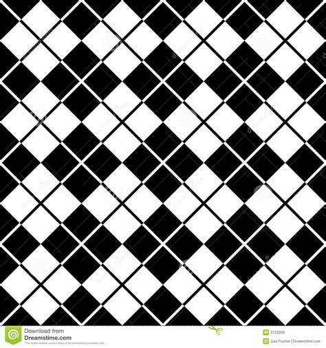 pattern of black and white squares 12 letters argyle pattern black white royalty free stock images