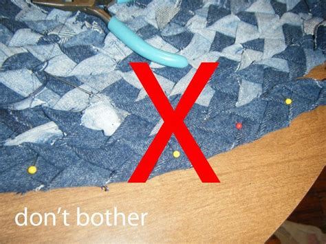 how to braid a rag rug without sewing braided denim rag rug 183 how to make a rag rug 183 braiding on cut out keep