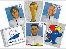 Panini France '98 World Cup Sticker Album Fifa 2002 Mascot