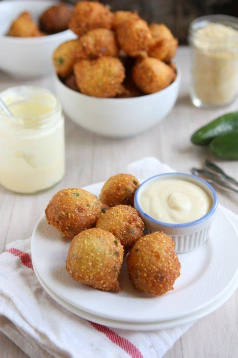 hush puppy dipping sauce hush puppies with honey orange dipping sauce recipe