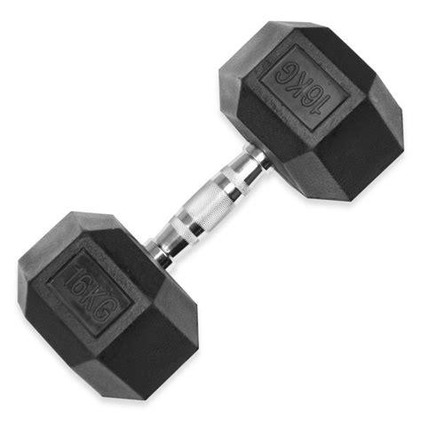 jll rubber hex dumbbells 4kg 32kg jll fitness