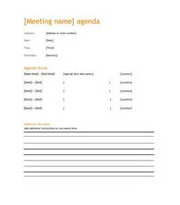 it meeting agenda template 46 effective meeting agenda templates template lab