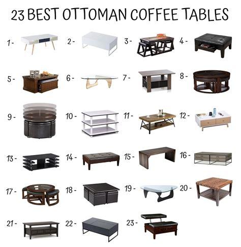 how to use an ottoman as a coffee table decor ideasdecor