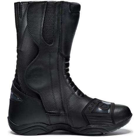 waterproof leather motorcycle boots agrius alpha waterproof motorcycle boots motorbike scooter