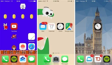 iphone jailbreak layout how to arrange homescreen icons to create a custom layout