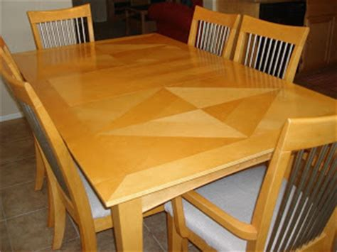 moving sale maple dining room table set w 6