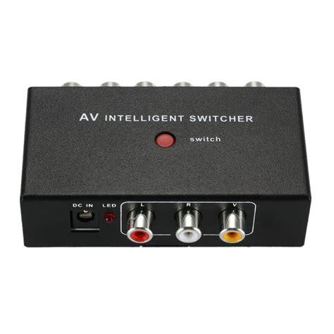 Switch Av get cheap rca audio switcher aliexpress alibaba