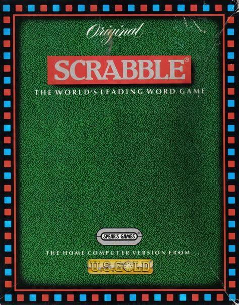 scrabble box scrabble 1992 dos box cover mobygames