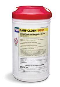 Sani Pad Caribbean Detox by Pdi Sani Cloth Plus Germicidal Disposable Cloths