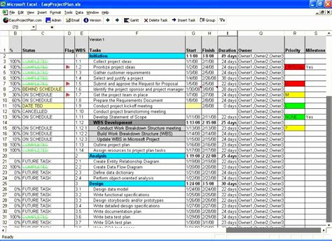 12 Training Schedule Template Excel Free Exceltemplates