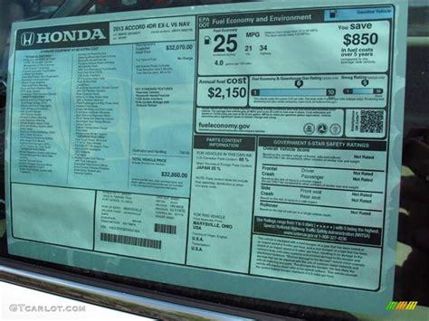Honda Accord Sticker by 2014 Honda Accord Crv Autos Post