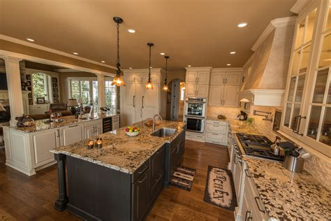 kitchen with 2 islands designing a kitchen island in alpharetta roswell milton