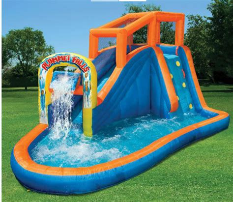 bouncers backyard rentals inflatable water slide pool bounce house commercial
