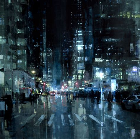 paint nite in nyc gritty new cityscapes by mann san francisco