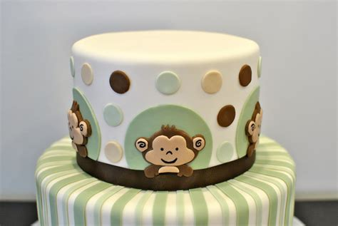Baby Shower Monkey Cakes by Monkey Baby Shower Cake Decorate This