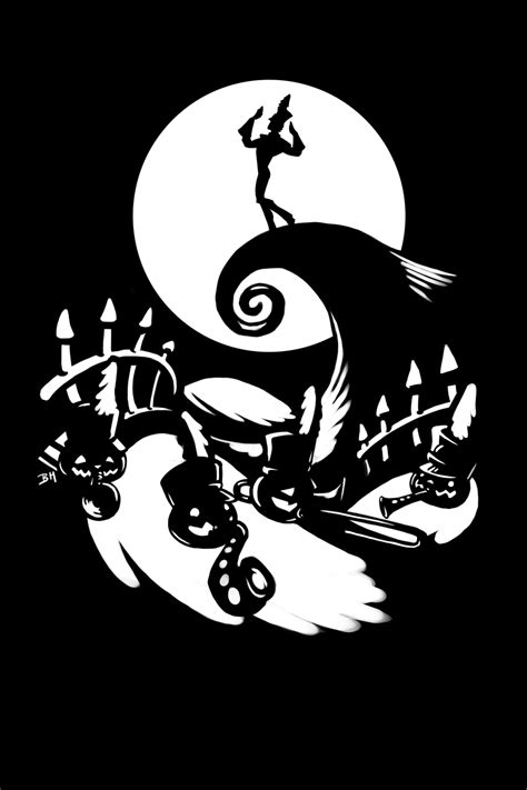 Sticker Cutting Grup Band the nightmare before t shirt design by