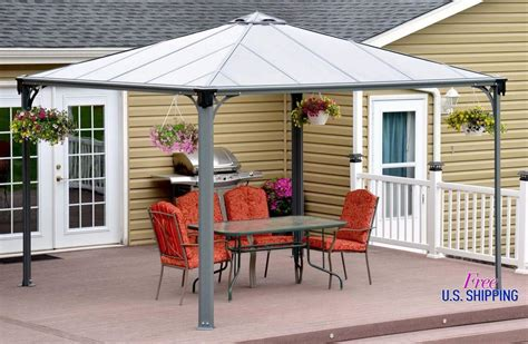 hardtop gazebo 10x10 royal hardtop gazebo 10 215 10 pergola design ideas