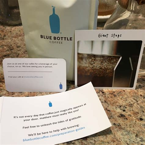 Blue Bottle Coffee Gift Card - blue bottle coffee giant steps rusty fox farm